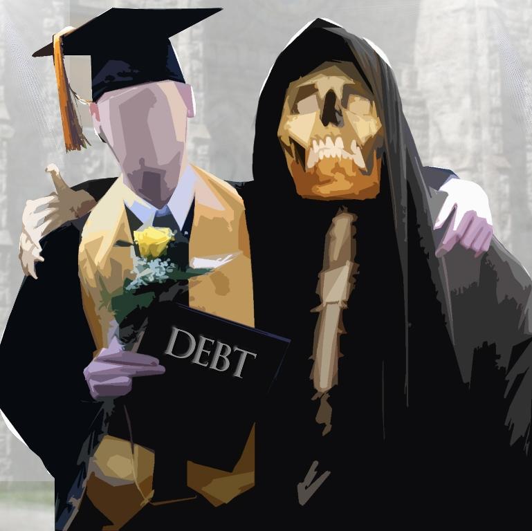 graduate with debt